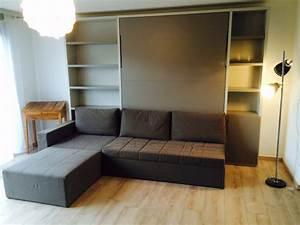 Canapé Avec Rangement : cubo avec rangement modulance ~ Teatrodelosmanantiales.com Idées de Décoration