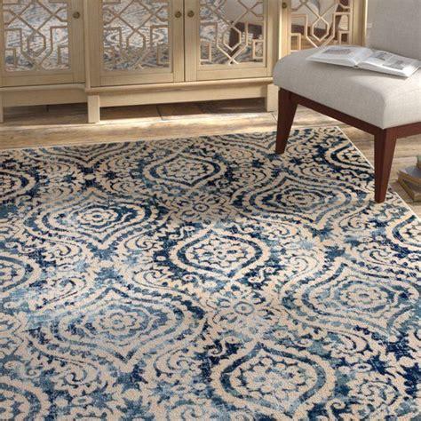 amy royal trellis creamblue area rug   area rugs