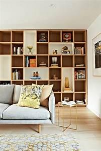 Etagere Salon Design : id es rangement pour un int rieur plus pratique et accueillant ~ Teatrodelosmanantiales.com Idées de Décoration