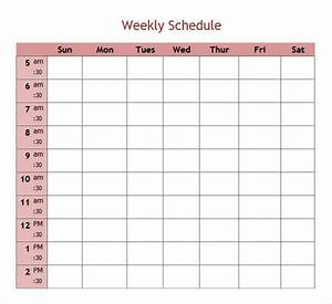 Printable 5 day calendar printable calendar template 2018 for Free 5 day calendar template