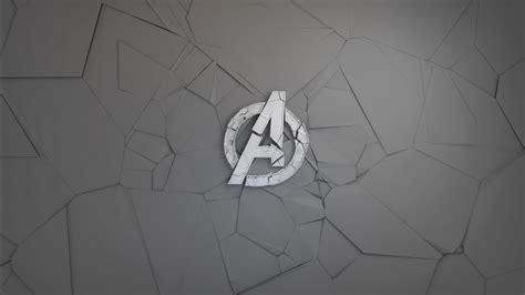 avengers minimal logo wallpapers hd wallpapers id