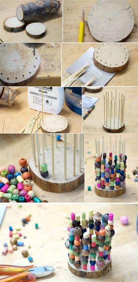 werken mit kindern ideen stiftehalter aus holz handmade kultur