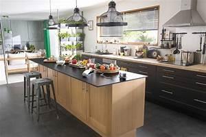 ilot central cuisine but galerie et ilot central cuisine With cuisine et ilot central