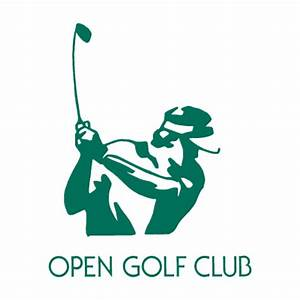 Open Golf Club vector logo free