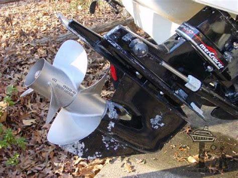 mercruiser bravo iii outdrive corrosion