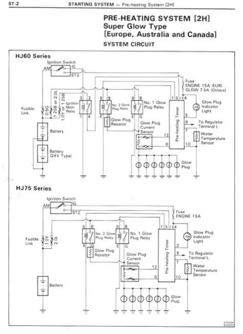 Pre Heating System Wiring Diagram Ihmud Forum