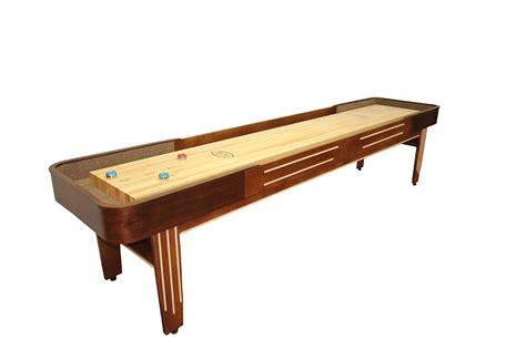 12 ft shuffleboard table 12 foot tournament ii deluxe shuffleboard table mcclure