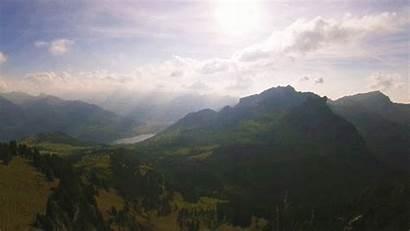 Hiking Mountains Switzerland Landscape Animated Notes Alps