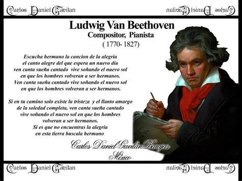 Homenaje Ludwig Van Beethoven Himno de la Alegria - YouTube