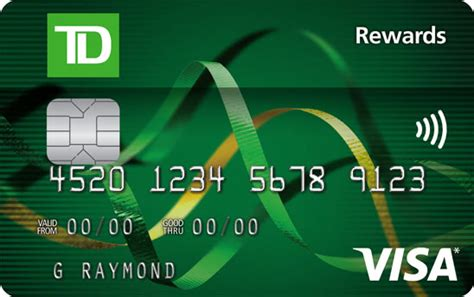 Td Rewards Visa Credit Card Business Cards Templates To Download Letterhead Design Software Docx Cheap Card Size Labels Free Adobe Illustrator Ai Template Google Docs Word