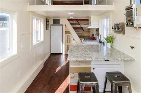 rustic modern tiny house shows  clever