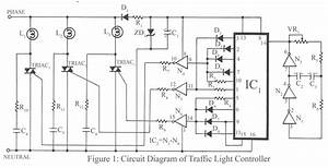 Traffic Light Controller Circuit Project
