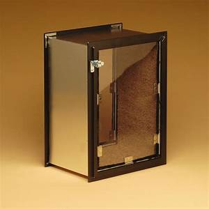 Hale pet doortm wall mount premium pet doors for Best dog door for wall mount