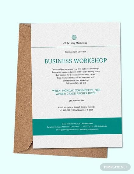 FREE 17+ Sample Business Invitation Templates inPSD