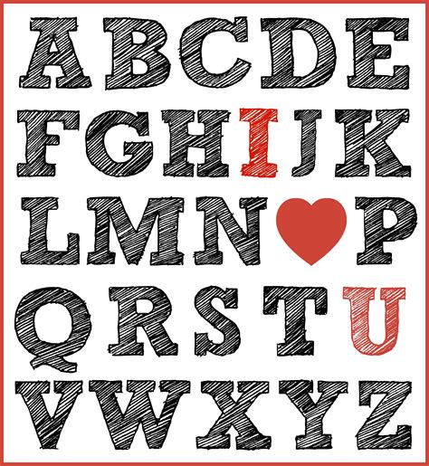 Free Printable I Love You Print For Valentines Day Mama