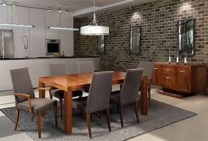 Salle a diner contemporaine mobilier salle a manger for Salle À manger contemporaine avec chaise salle À diner