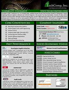 8 best capabilities sta images on pinterest sample With capabilities statement template