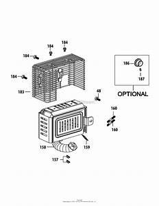 Mtd 13b226jd099  247 290000   R1000   2015  Parts Diagram For 4p90jud Muffler Assembly