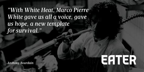 read anthony bourdains tribute  white heat eater