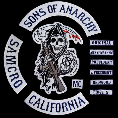sons of anarchy patches 2019 new 2014 fashion motorcycle cool sons of anarchy