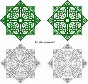 Islamic Geometric Pattern Png - ma