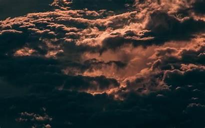 Sky Clouds Dark 4k Overcast Cloud Skylight