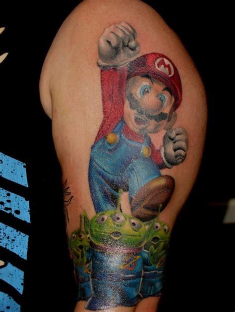 35 Cute Super Mario Tattoo Designs Colorlava
