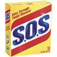 98018 - 18count Sos Pads #Clorox Company