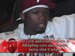 50 Cent shows he was actually shot 9 times ! - YouTube