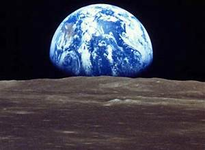 earth from the moon | Tumblr