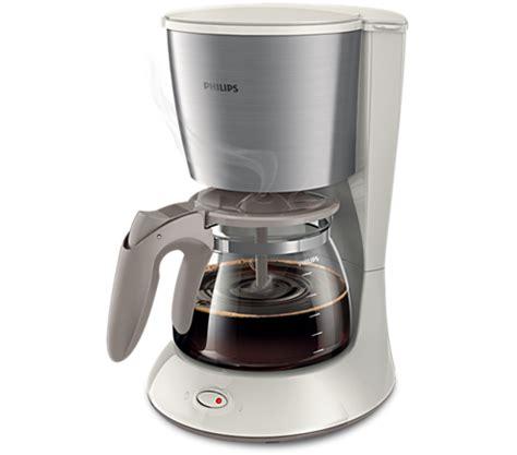 kaffeemaschine philips daily collection kaffeemaschine hd7462 01 philips