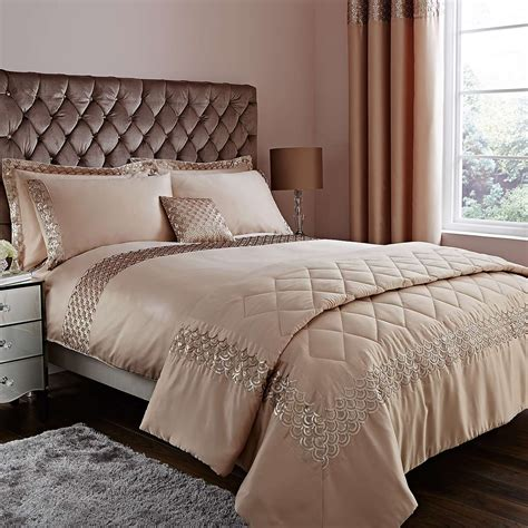charleston champagne bed linen collection dunelm