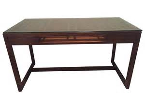 crate and barrel wooden desk chairish
