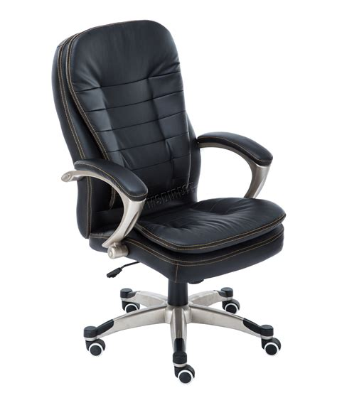 swivel leather chairs foxhunter computer executive office chair pu leather 2639