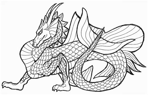 printable coloring pages  adults advanced dragons coloring home