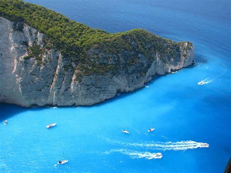 Navagio Beach Zakynthos Island Greece Unusual Places
