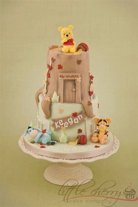 Winnie The Pooh Cake Template by Cuddly And Charming Winnie The Pooh Cake Designs