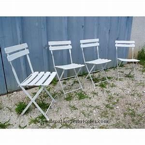 Chaise Jardin Bois : chaises de jardin en bois ~ Teatrodelosmanantiales.com Idées de Décoration