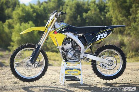 2016 suzuki rm z250 ride motorcycle usa