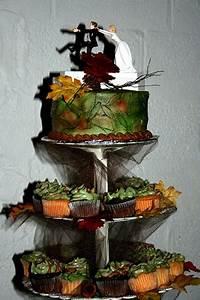10, Awesome, Hunting, Wedding, Cakes