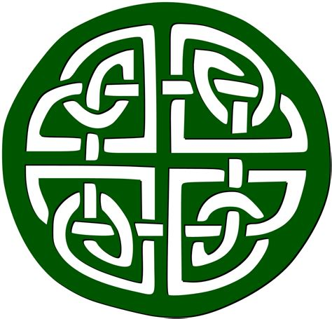 Celtic Clip Ireland Clipart Celtic Knot Pencil And In Color Ireland