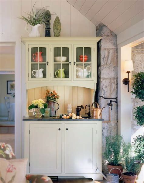 lilacsndreams cottage style decorating choices 44 best hutch designs ideas images on pinterest kitchen armoire kitchen hutch and kitchen ideas