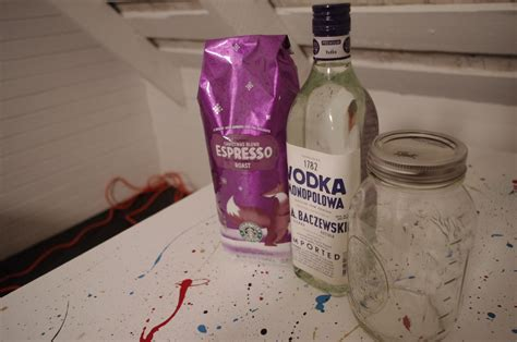 Espresso Infused Vodka (plus A Glass Coffee Tables Perth Cake Muffins Paula Deen Circular Uk Made With Bisquick Victoria Bc Without Eggs Caffeine In Tim Hortons Xl Yogurt