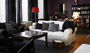 ikea living room design ideas 2010 digsdigs With decoration ideas for living room with black furniture