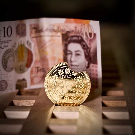 One value is a set supply. Bitcoin Coin And Pound Sterling Editorial Image - Image of trade, economy: 123939265