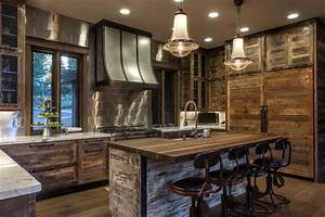 Rustic great room fresh faces of design hgtv for Kitchen cabinet trends 2018 combined with outdoor wall art metal large