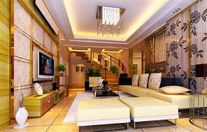 interior design stairs living room villa With interior design for living room with stairs