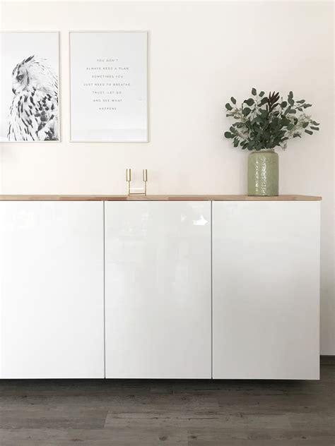 Ikea Küchenschrank Höhe by Ikea Hack Metod K 252 Chenschrank Als Sideboard Elfenweiss