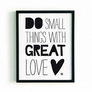 paqhuis poster small things Quotes