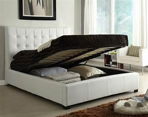 Wie Groß Ist Ein Queensize Bett : bett mit stauraum eine funktionelle alternative wie man ordnung im schlafzimmer h lt ~ Bigdaddyawards.com Haus und Dekorationen